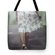 Walking On The Street Tote Bag by Joana Kruse