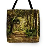 Walking The Bluff Artistic Tote Bag