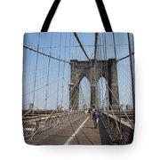 Walking The Bridge Tote Bag