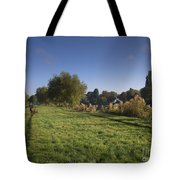 Walking The Dogs Tote Bag
