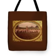 Walking The Hounds Tote Bag