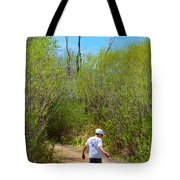 Walking The Ox Bow 2 Tote Bag