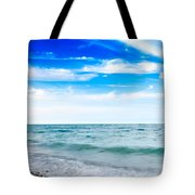 Walking The Shore - Extended Tote Bag by Steven Santamour