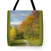 Walking Through Autumn Tote Bag