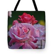 Walking Through The Rose Garden Tote Bag