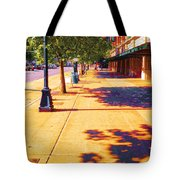 Walking To King Street Station Five-o-nine Pm Tote Bag