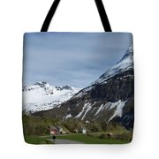 Walking Toward The Sky Tote Bag