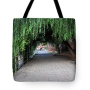 Walkway By The River Tote Bag