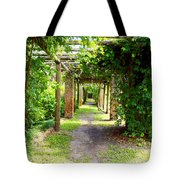 Walkway Tote Bag by Carey Chen