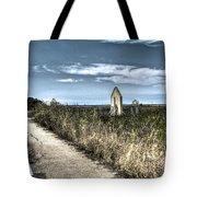 Walkway In The Marsh 2 Tote Bag