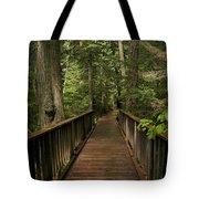Walkway Into Paradise Tote Bag