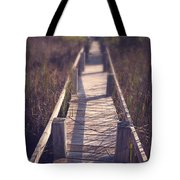 Walkway Through The Reeds Appalachian Trail Tote Bag