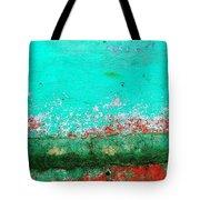 Wall Abstract 111 Tote Bag