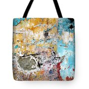 Wall Abstract 124 Tote Bag