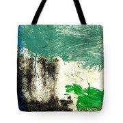 Wall Abstract 166 Tote Bag