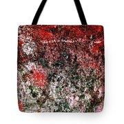 Wall Abstract 38 Tote Bag