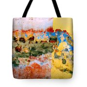 Wall Abstract 7 Tote Bag