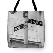 Wall And Broad Tote Bag