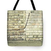 Wall And Wire Tote Bag
