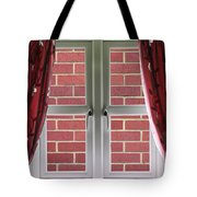 Wall Build Close To A Closed Window Tote Bag