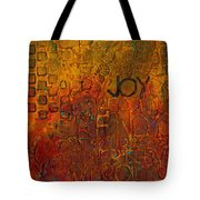 Wall Carvings Tote Bag