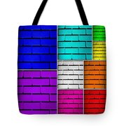 Wall Color Wall Tote Bag by Semmick Photo