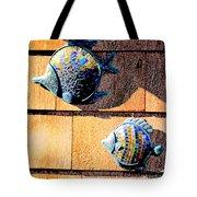 Wall Fish Tote Bag