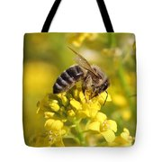 Wall Flower Pollen Tote Bag