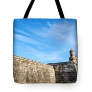 Wall Of Cartagena Colombia Tote Bag