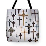 Wall Of Crosses Tote Bag