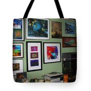 Wall Of Framed Tote Bag
