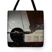 Wall Of Great Aviators Tote Bag