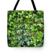 Wall Of Ivy Tote Bag