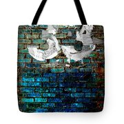 Wall Of Knowlogy Abstract Art Tote Bag