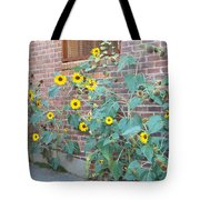 Wall Of Sunflowers 1 Tote Bag