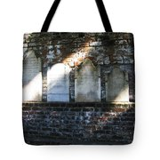 Wall Of Tombstones Knocked Down During Civil War Tote Bag