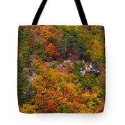 Wall Of Trees Tote Bag