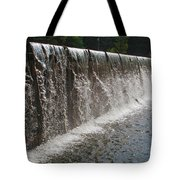 Wall Of Water Tote Bag
