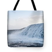Wall Of Water Tote Bag
