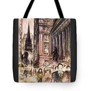 New York Wall Street - Fine Art Tote Bag