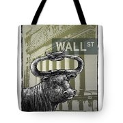 Wall Street Tote Bag