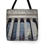 Wall Street New York Stock Exchange Nyse  Tote Bag
