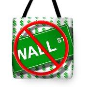 Wall Street No Tote Bag