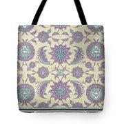 Wall Tiles From The Palace Of Ismayl Bey From Arab Art As Seen Through The Monuments Of Cairo  Tote Bag