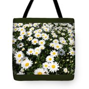 Wall To Wall Daisies Tote Bag