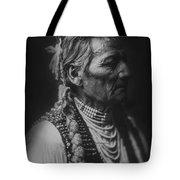 Walla Walla Indian Circa 1905 Tote Bag