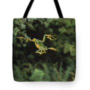 Wallaces Flying Frog Tote Bag