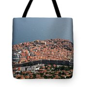 Walled City Of Dubrovnik Tote Bag