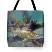 Walleye Pike And Dardevle Tote Bag