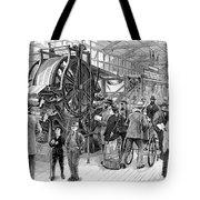 Wallpaper Printing, 1876 Tote Bag